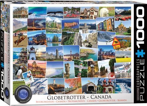 Globetrotter - Canada Puzzel (1000 stukjes)