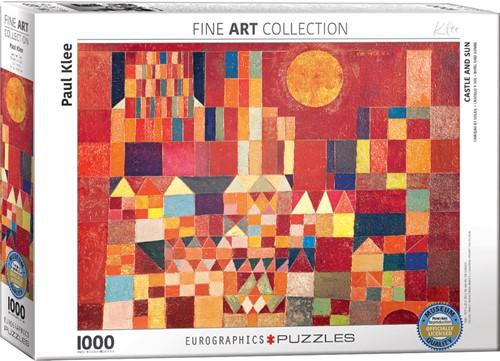 Castle and Sun - Paul Klee Puzzel (1000 stukjes)