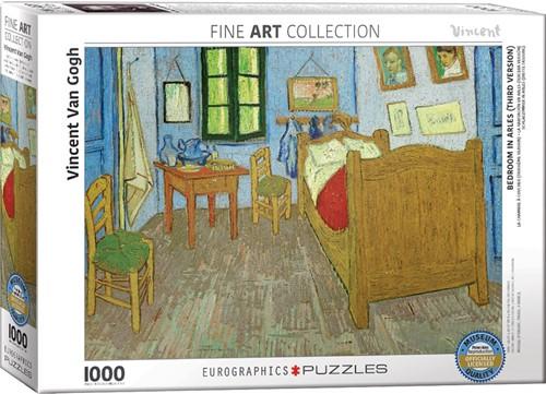 Bedroom in Arles - Vincent van Gogh Puzzel (1000 stukjes)
