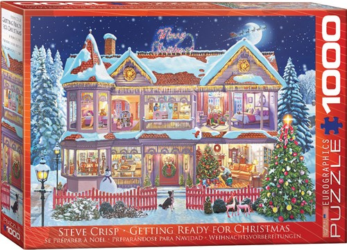 Getting Ready Christmas Puzzel (1000 stukjes)
