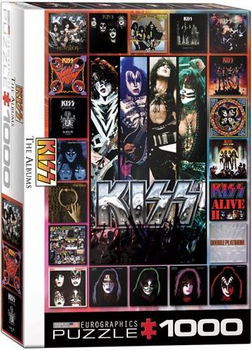 KISS The Albums Puzzel (1000 stukjes)