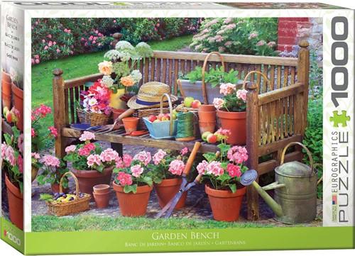 Garden Bench Puzzel (1000 stukjes)