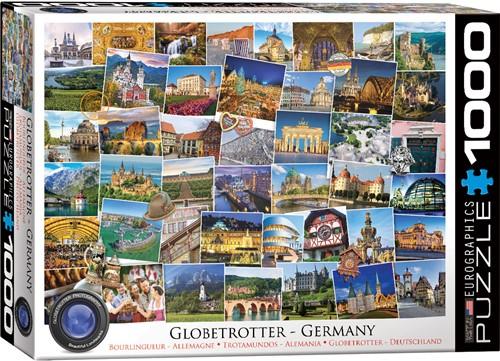 Germany - Globetrotter Puzzel (1000 stukjes)