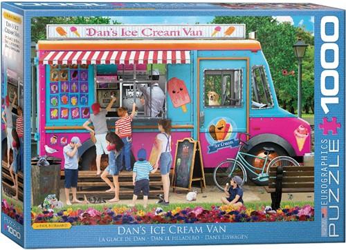 Dan's Ice Cream Van Puzzel (1000 stukjes)