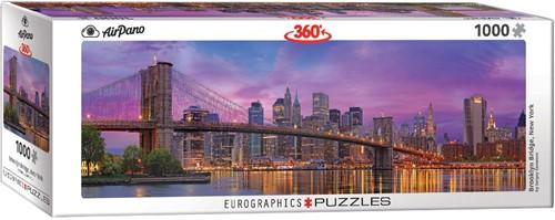 Brooklyn Bridge - New York Panorama Puzzel (1000 stukjes)