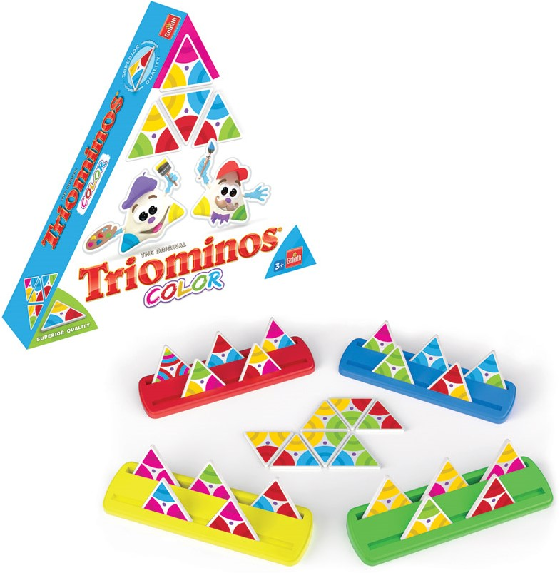 Triominos Color - kopen bij Spellenrijk.nl
