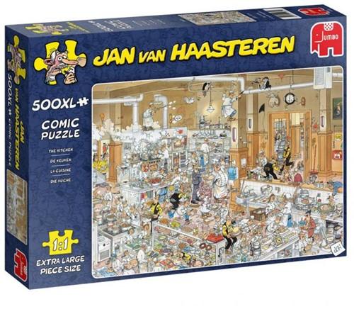Jan van Haasteren - De Keuken Puzzel (500 XL)