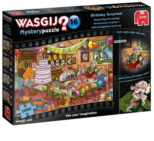Wasgij Mystery 16 Puzzel - Verjaardag Verrassing (1000 stukjes)