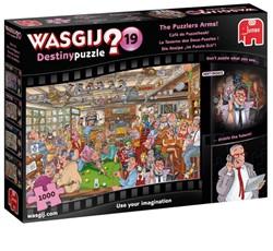 Wasgij Destiny 19 Puzzel - Café de Puzzelhoek (1000 stukjes)