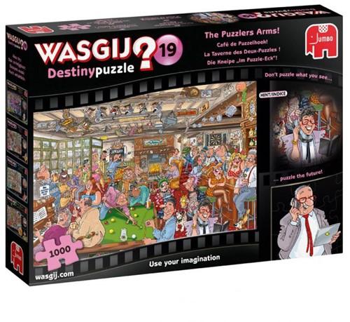 Wasgij Destiny 19 - Café de Puzzelhoek Puzzel (1000 stukjes)