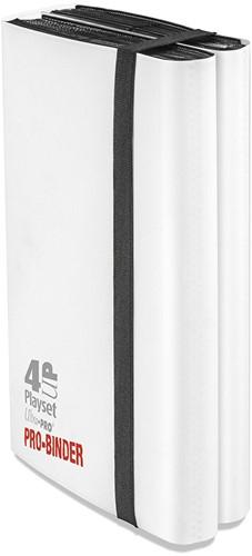 Ultra Pro Binder 4-UP Playset White