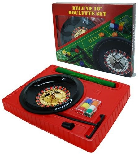 Roulette Set Kunststof (25 cm)