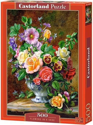 Flowers in a Vase Puzzel (500 stukjes)