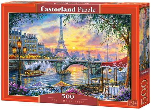 Tea Time in Paris Puzzel (500 stukjes)