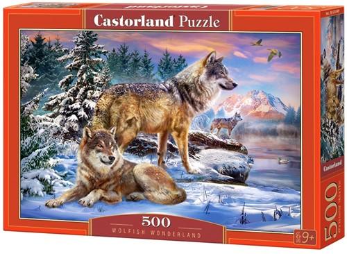 Wolfish Wonderland Puzzel (500 stukjes)