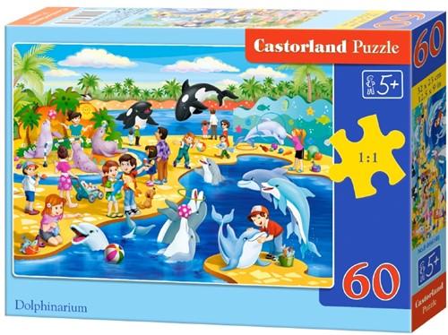 Dolphinarium Puzzel (60 stukjes)
