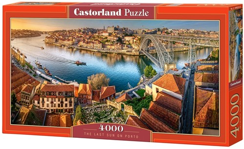 The Last Sun on Porto Puzzel (4000 stukjes)