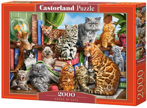 House of Cats Puzzel (2000 stukjes)