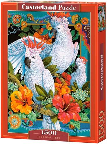 Tropical Trio Puzzel (1500 stukjes)