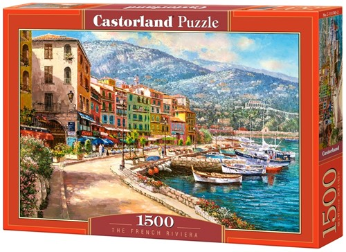 The French Riviera Puzzel (1500 stukjes)