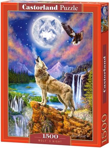 Wolf's Night Puzzel (1500 stukjes)