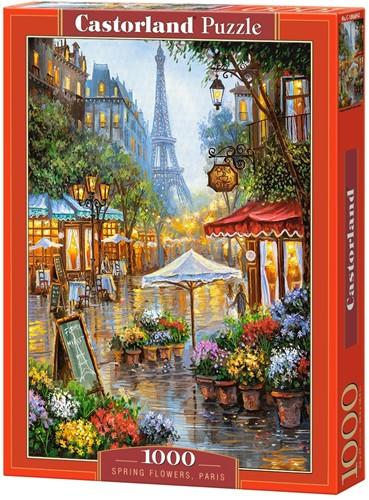 Spring Flowers, Paris Puzzel (1000 stukjes)