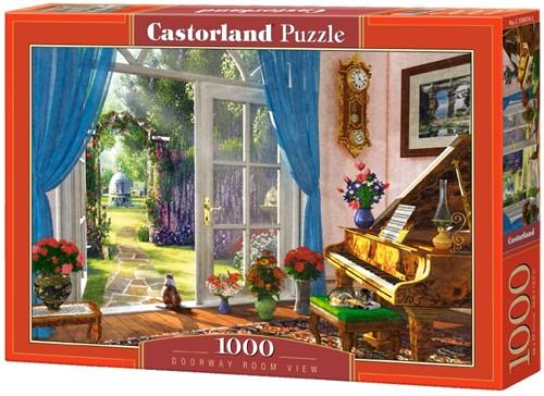 Doorway Room View Puzzel (1000 stukjes)