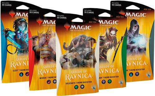 Magic The Gathering - Guilds of Ravnica Theme Boosterpack
