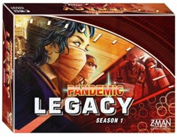 Pandemic Legacy - Season 1 (Red Version)