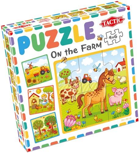 My First Puzzle - On the Farm (4x6 stukjes)