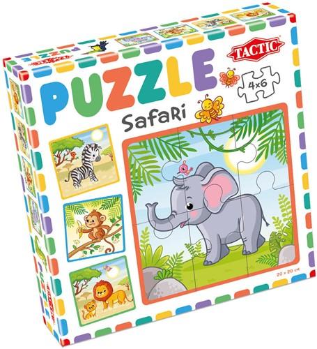 My First Puzzle - Safari (4x6 stukjes)