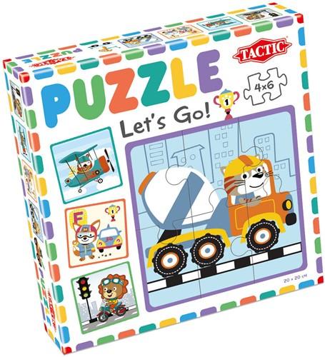 My First Puzzle - Let's Go! (4x6 stukjes)