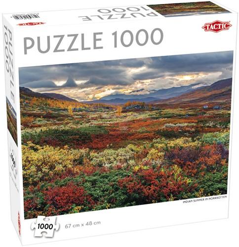 Indian Summer in Norrbotten Puzzel (1000 stukjes)