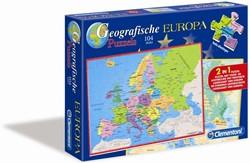 Geographische Puzzel Europa (104 stukjes)