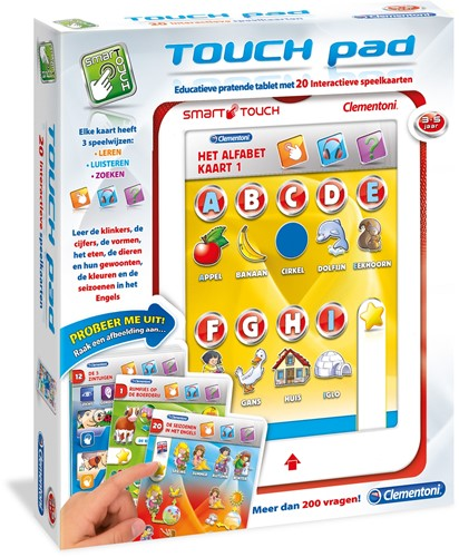 Clementoni Cards Touch Pad-1