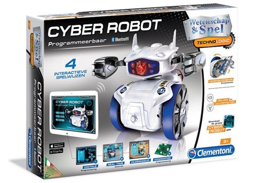 Wetenschap & Spel - Cyber Robot (Bluetooth)-1