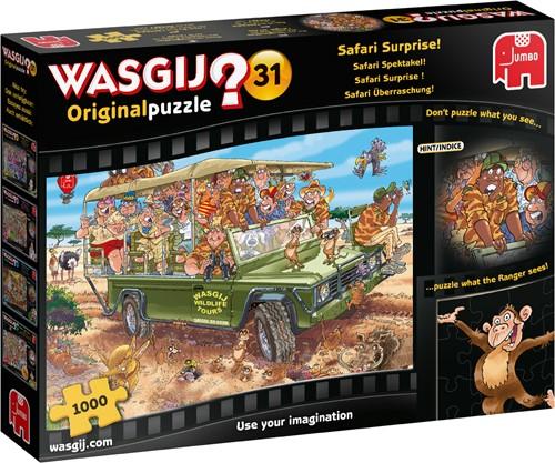 Wasgij Original 33 - Kalm op het kanaal! Puzzel (1000 stukjes)