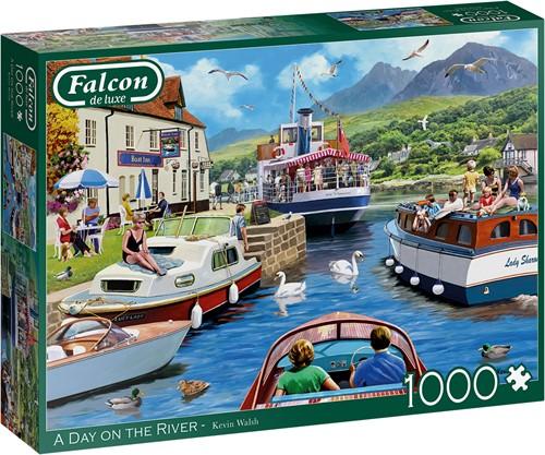 Falcon - A Day on the River Puzzel (1000 stukjes)