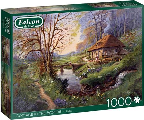 Falcon - Cottage in the Woods Puzzel (1000 stukjes)