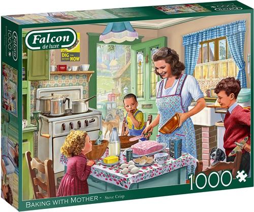 Falcon - Baking with Mother Puzzel (1000 stukjes)