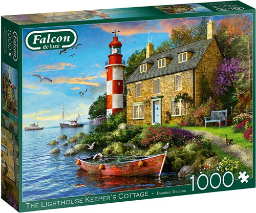 The Lighthouse Keeper's Cottage Puzzel (1000 stukjes)