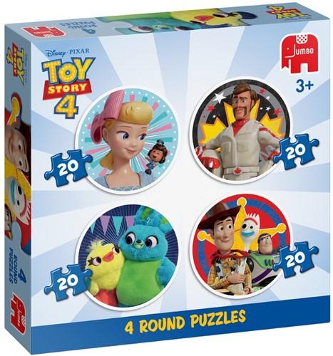 Disney Toy Story 4 - 4 in 1 Puzzel