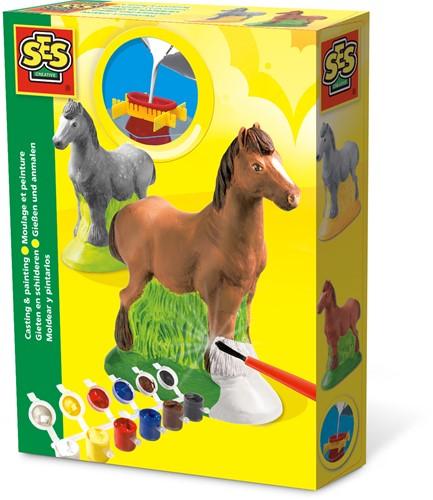 SES -  Figuren Gieten en Schilderen - Paard