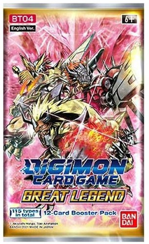 Digimon TCG S3 Great Legends Boosterpack