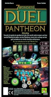 7 Wonders Duel Pantheon (NL)