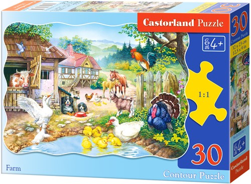 Farm Puzzel (30 stukjes)
