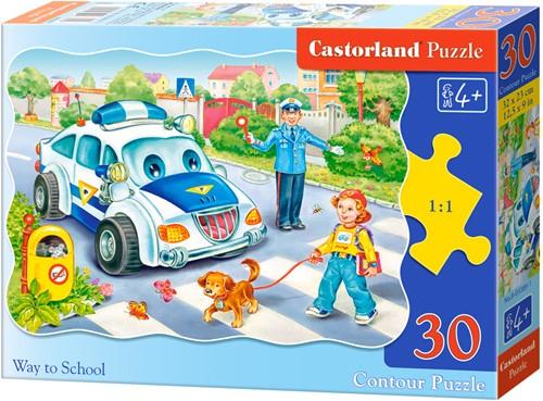 Way to School Puzzel (30 stukjes)
