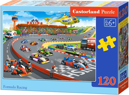 Formula Racing Puzzel (120 stukjes)
