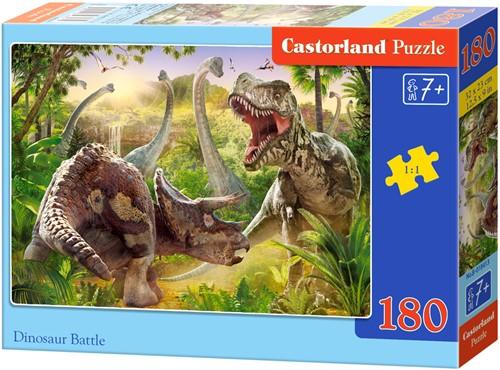 Dinosaur Battle Puzzel (180 stukjes)