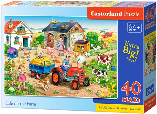 Life on the Farm Puzzel (40 MAXI stukjes)